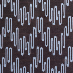 Geometric Print Fabric - Wavelength P102/206 Poppyseed/Vervain