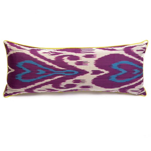 Purple Heart Ikat Cushion | Nicholas Engert Interiors