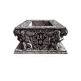 : Wood Engraving - Este Tomb
