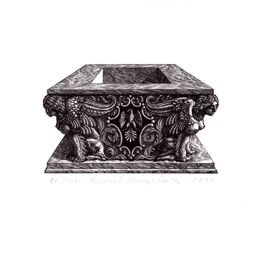 Wood Engraving - Este Tomb