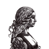 Autumn 2017 Collection : Wood Engraving - Lucrezia Borgia & Pietro Bembo