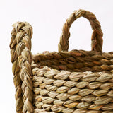 : English Rush Log Basket - Detail