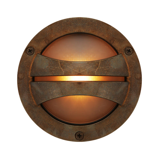 Seri Outdoor Bulkhead Lamp-Antique Brass | Nicholas Engert Interiors