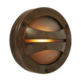 : Seri Outdoor Bulkhead Lamp - Antique Brass | Nicholas Engert Interiors