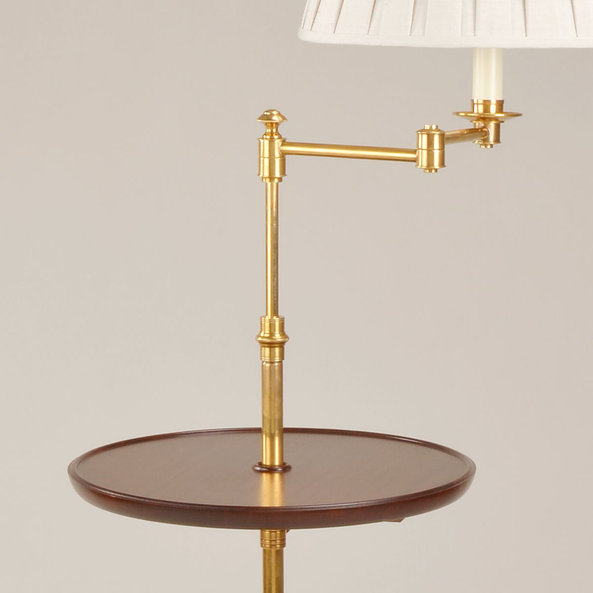 Sherborne Floor Light - Brass - Detail | Nicholas Engert Interiors