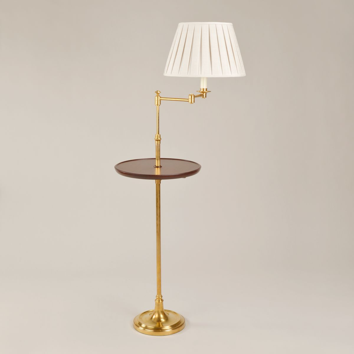 Sherborne Floor Light - Brass | Nicholas Engert Interiors