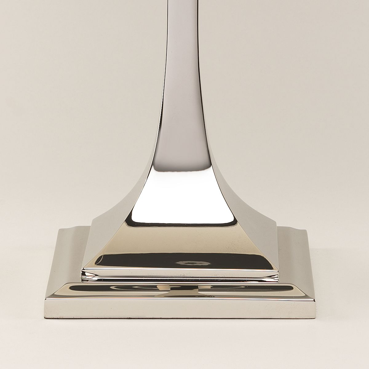 Arts & Crafts Table Lamp-Nickel-Detail | Nicholas Engert Interiors