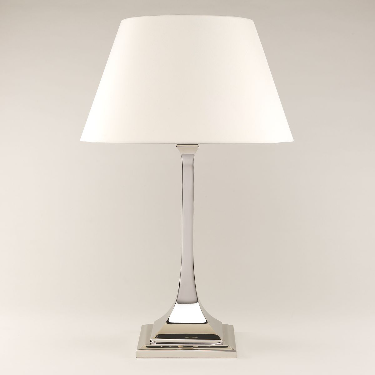 Arts & Crafts Table Lamp-Nickel | Nicholas Engert Interiors