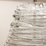 : Ascona Glass Vase Table Lamp-Detail | Nicholas Engert Interiors