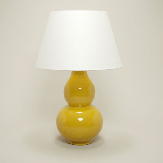 Avebury Table Lamp-Mustard | Nicholas Engert Interiors