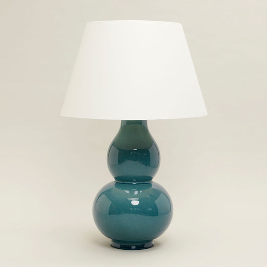 Avebury Table Lamp-Teal | Nicholas Engert Interiors