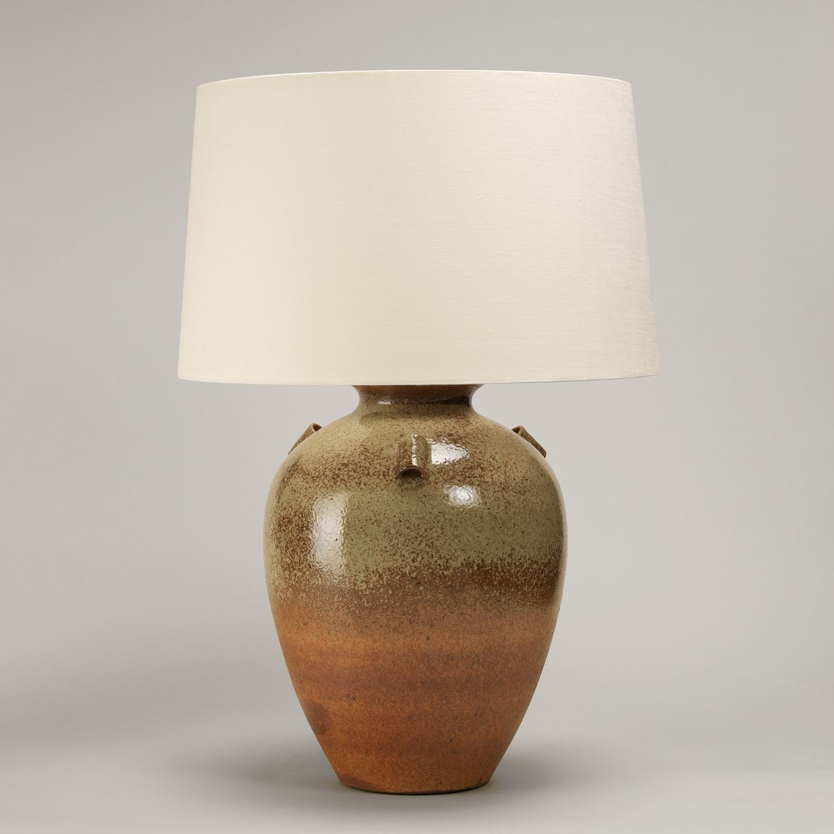 Barton Stoneware Vase Table Lamp | Nicholas Engert Interiors