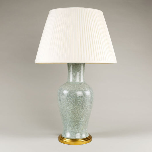 Fishtail Vase Table Lamp - Duck Egg | Nicholas Engert Interiors