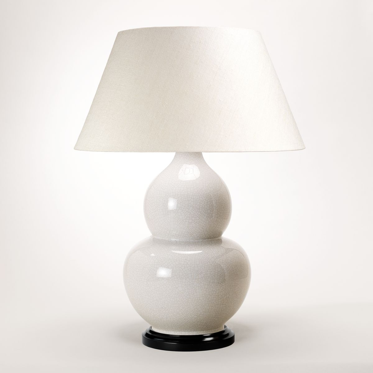 Gourd Vase Table Lamp - White | Nicholas Engert Interiors