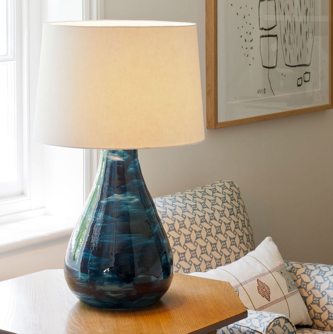 Hanford Table Lamp - Context | Nicholas Engert Interiors