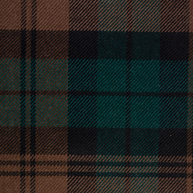 Tartan Fabric - Brown Watch Modern | Nicholas Engert Interiors