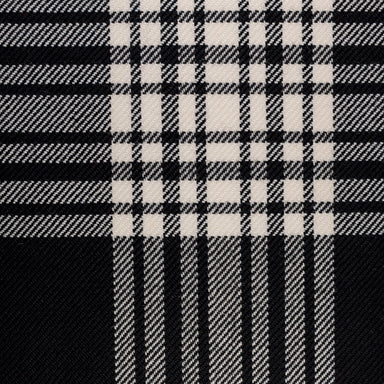 Tartan Fabric - Menzies Black & White | Nicholas Engert Interiors