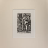 : Wood Engraving - Thias