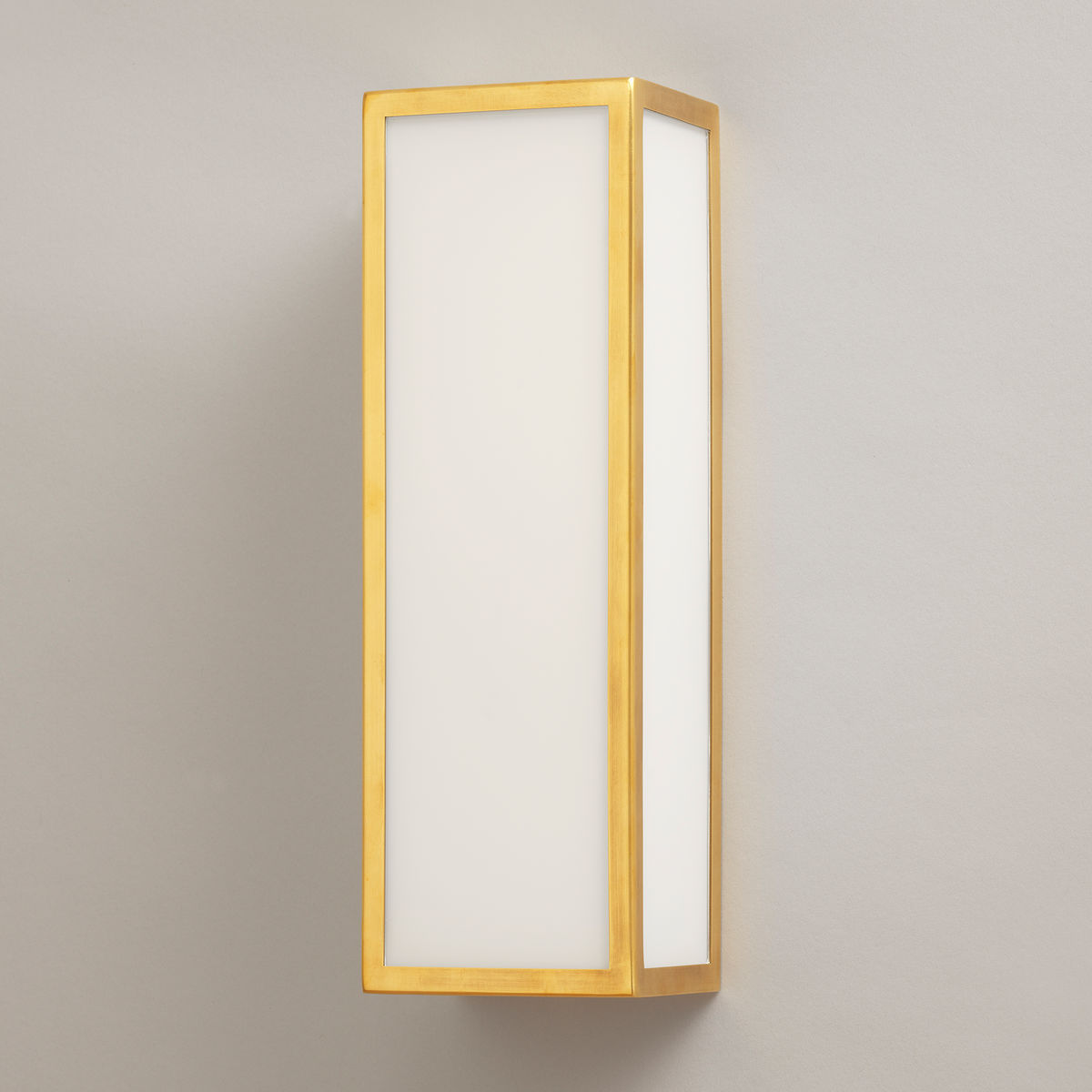 Beverley Bathroom Wall Light-Brass | Nicholas Engert Interiors