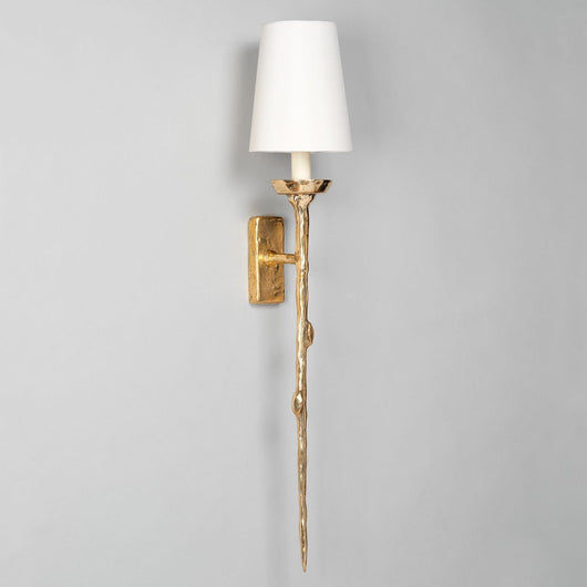 Brantome Wall Light-Brass | Nicholas Engert Interiors