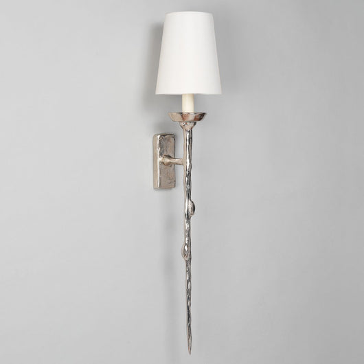 Brantome Wall Light-Nickel | Nicholas Engert Interiors