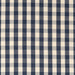 Woven Check Fabric - Weymouth - Mood Indigo | Nicholas Engert Interiors