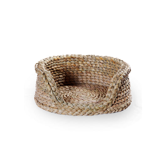 Round Rush Dog Basket-Small | Nicholas Engert Interiors