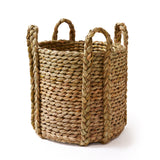 English Rush Baskets : Round Rush Log Basket-Extra Large | Nicholas Engert Interiors