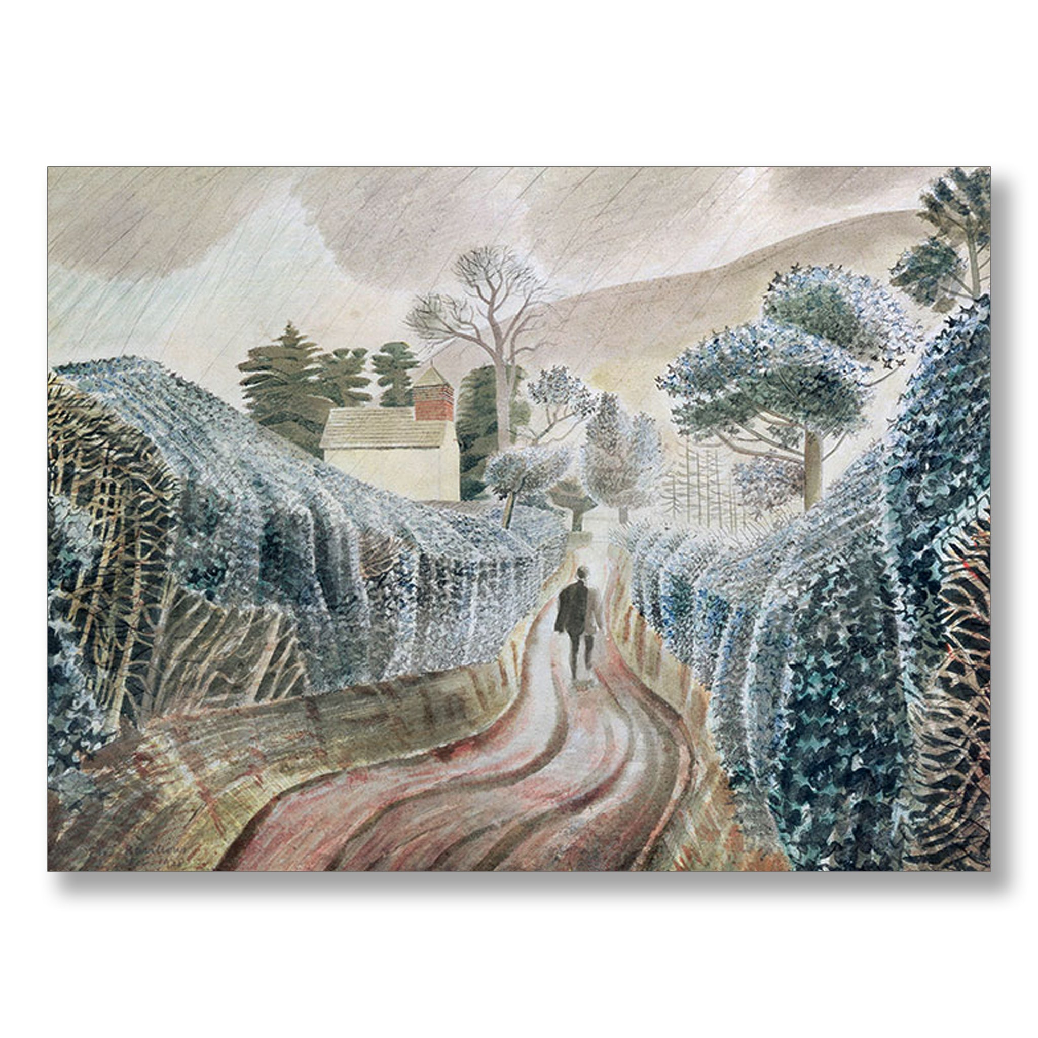 Wet Afternoon by Eric Ravilious | Nicholas Engert Interiors