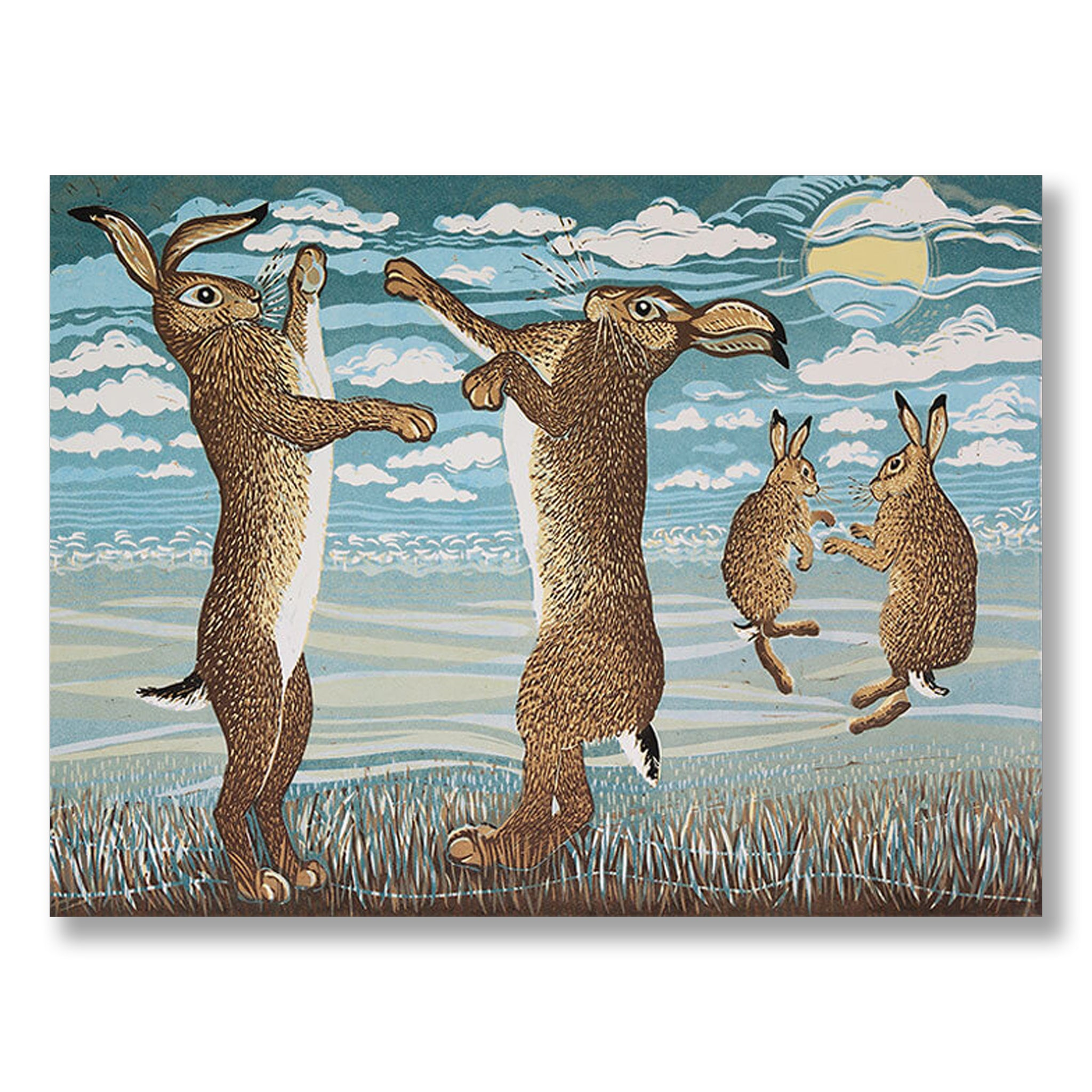 March Hares by Linda Richardson | Nicholas Engert Interiors