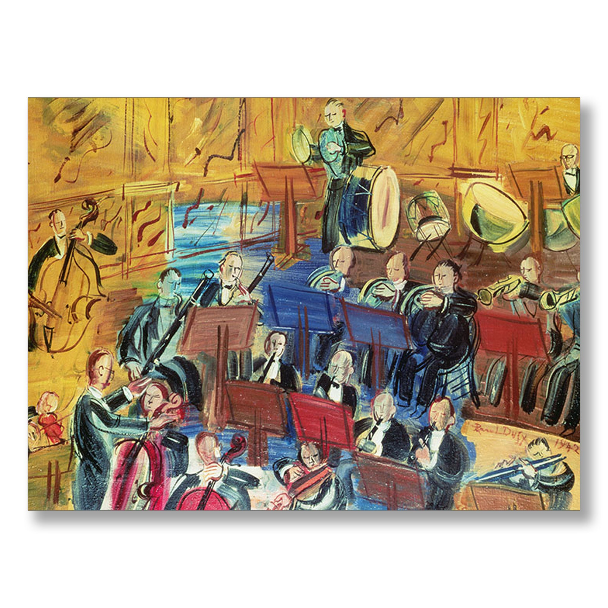 Orchestra by Raoul Dufy