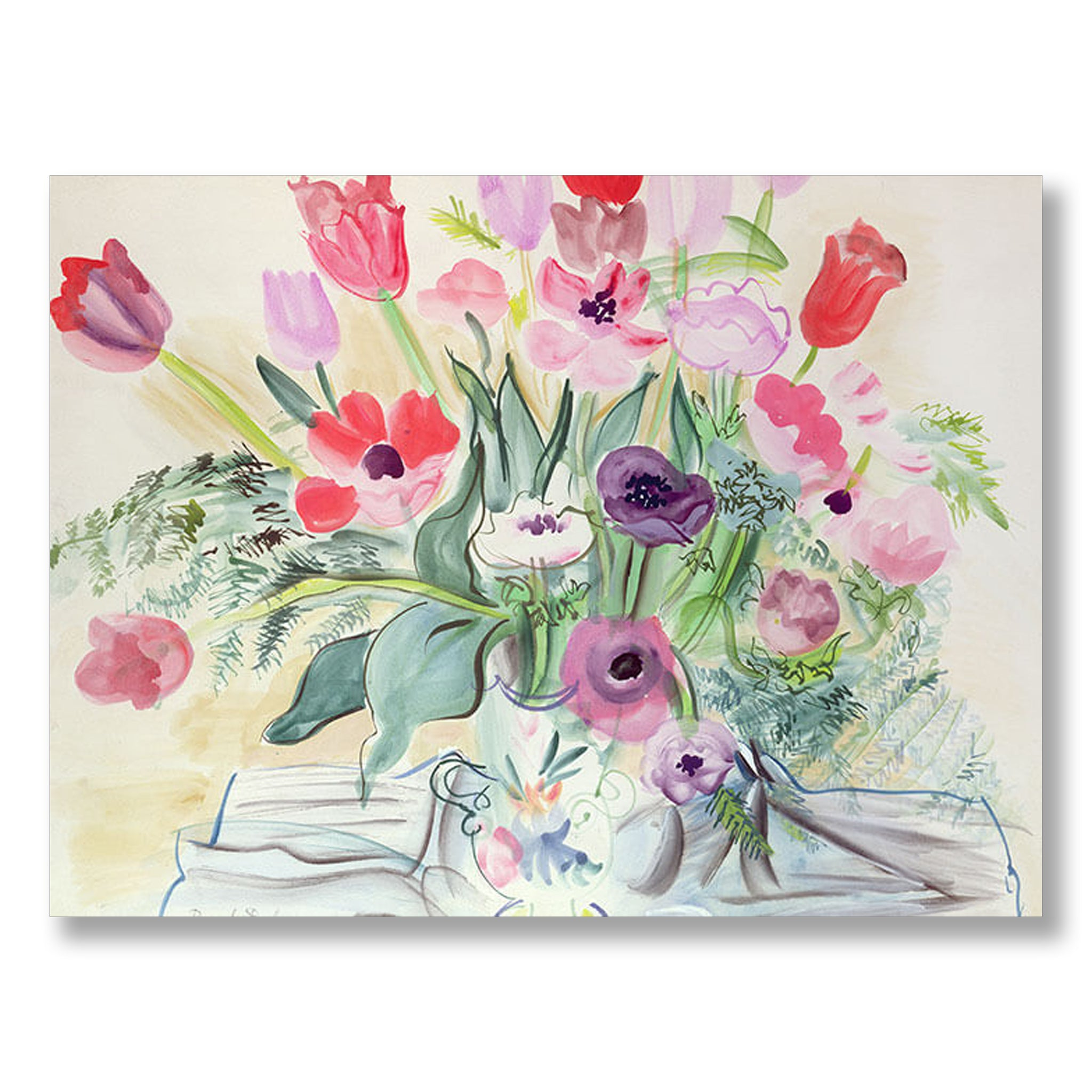 Anemones 1942 by Raoul Dufy | Nicholas Engert Interiors