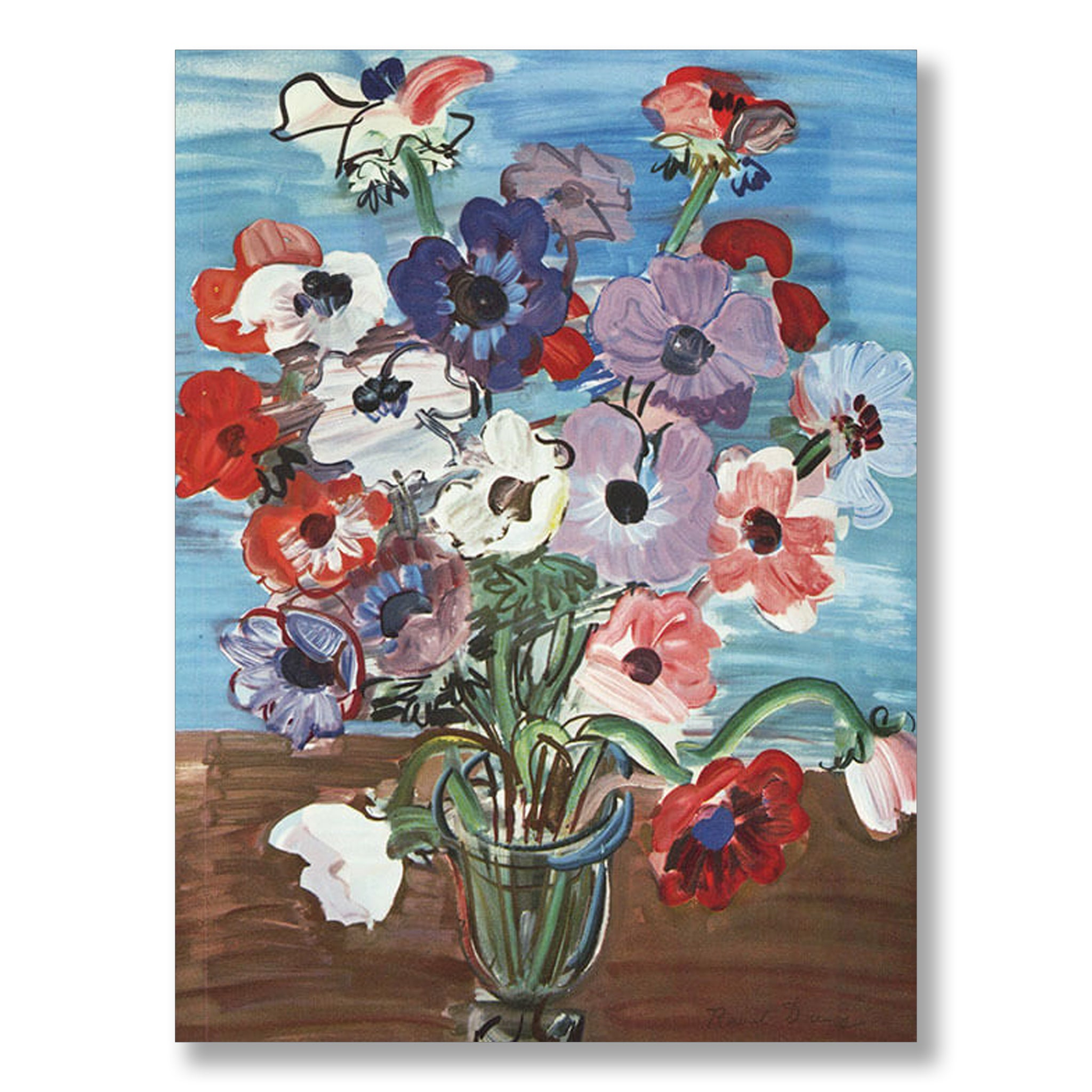 Anemones 1937 by Raoul Dufy | Nicholas Engert Interiors
