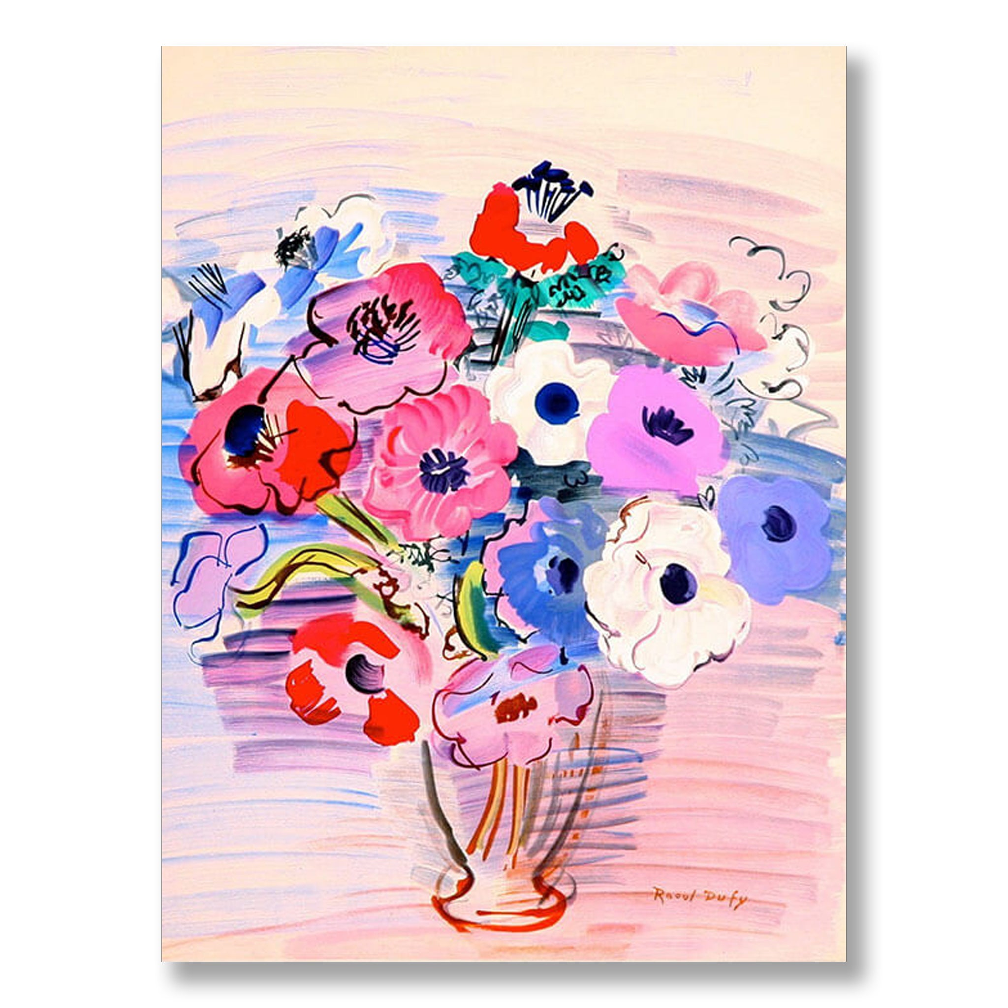 Bouquet of Anemones 1948 by Raoul Dufy