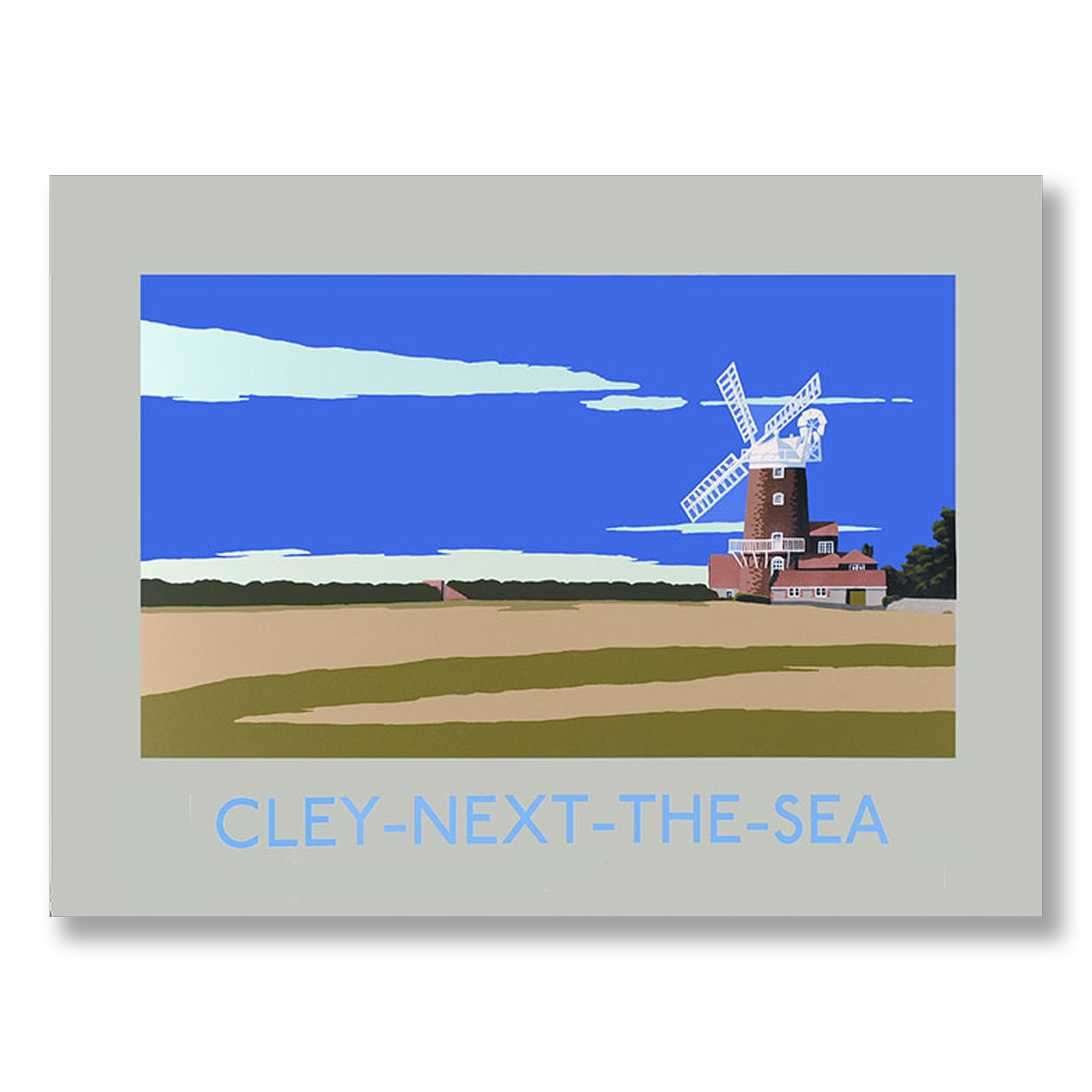 Cley-Next-The-Sea by David Kirk