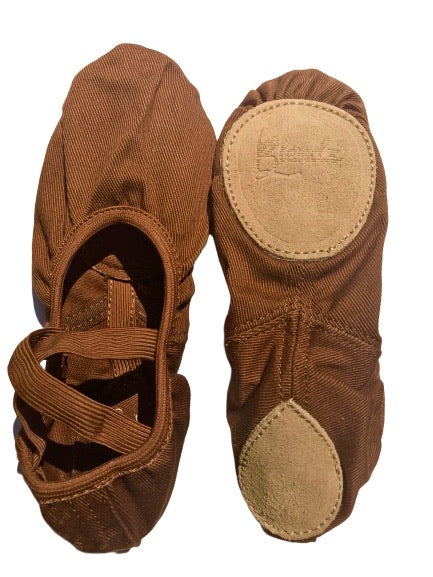 RENTAL - Child  Fleshtone Stretch Canvas Ballet Shoe Size Kit