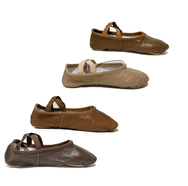 Child Leather Ballet Shoe Size Kit