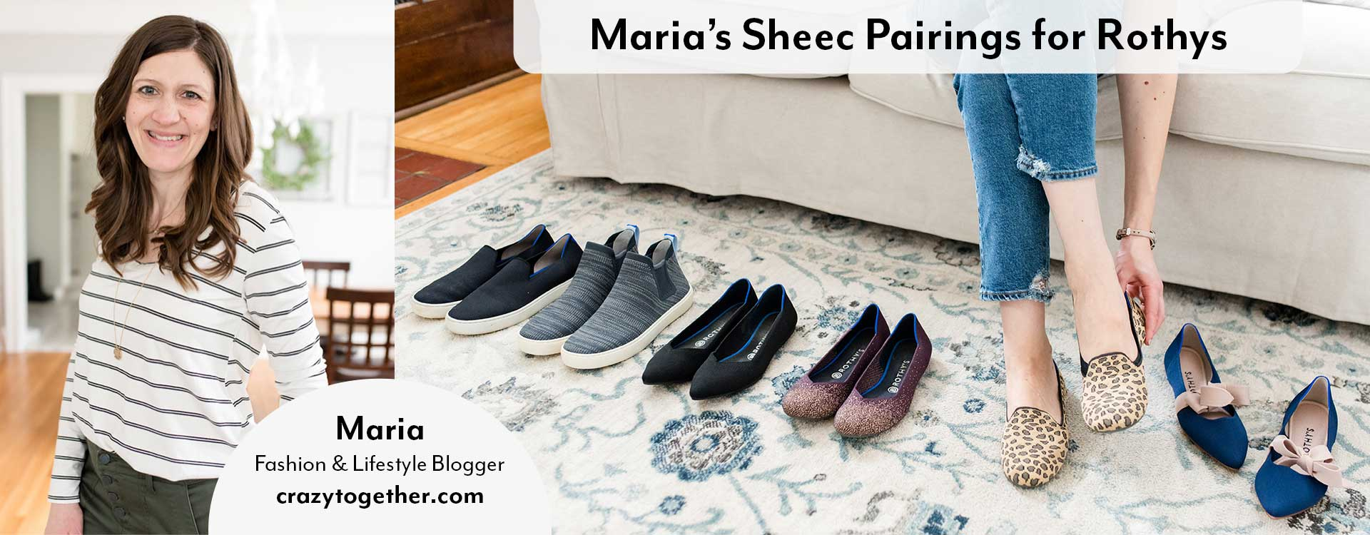 Maria's Sheec socks Pairings for Rothys