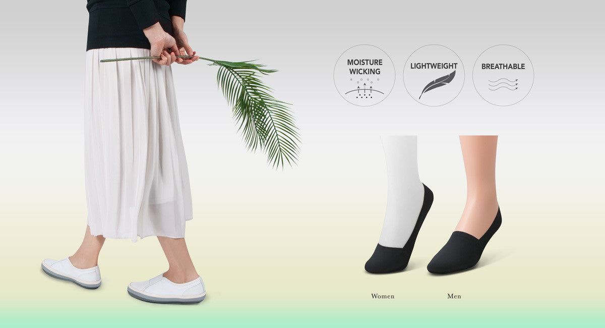 WICK(ed) Summer Looks with moisture WICK(ing) socks