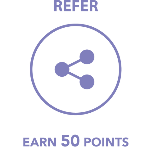 Refer, Earn 50 Points