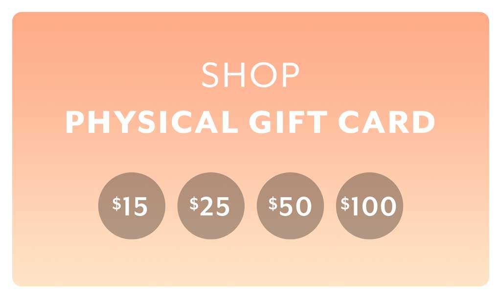 Sheec physical gift card