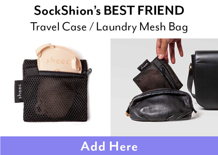 Travel case and laundry mesh bag