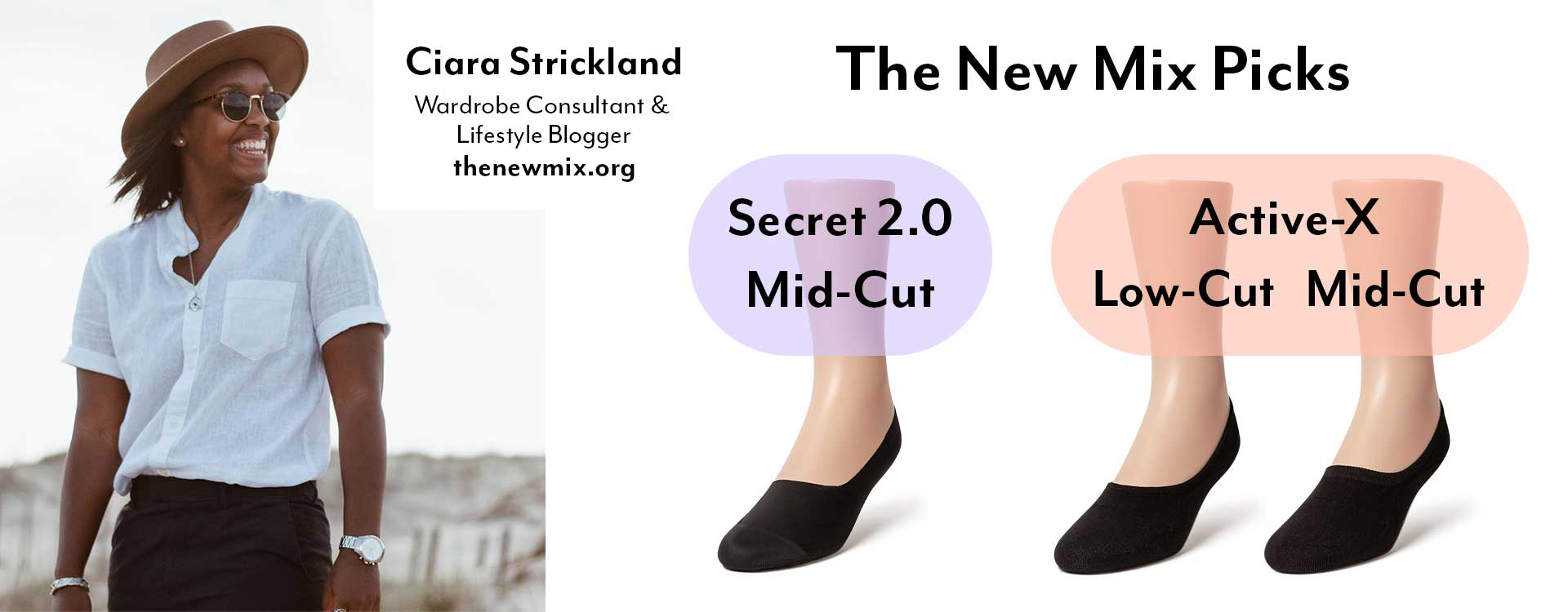 The new mix's Sheec Socks Choices