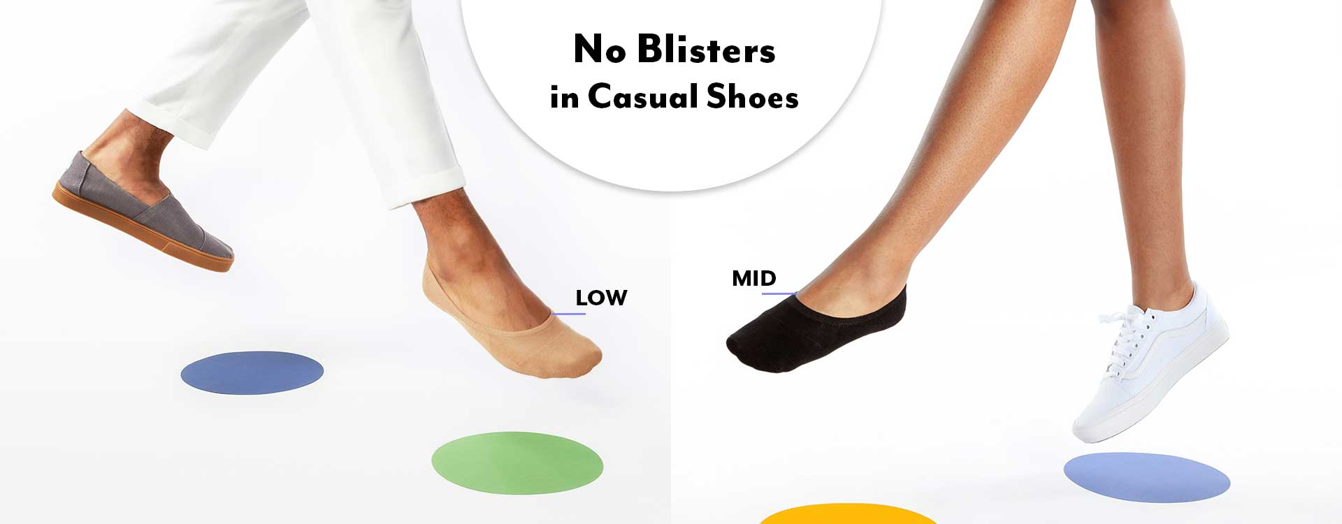 Socks for Casual Shoes