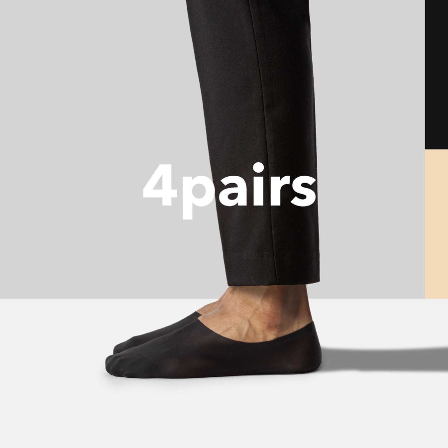 Secret 2.0 High-Cut no show socks for women and men.
