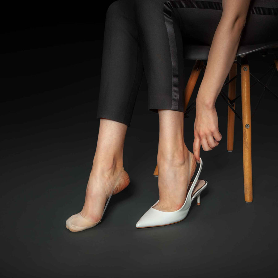 Slingback - Seamless Toe Cover No Show Socks