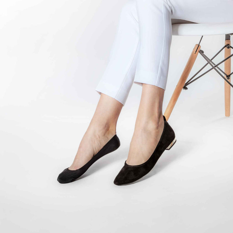 No-show socks for women, pairs perfectly with ballet flats.