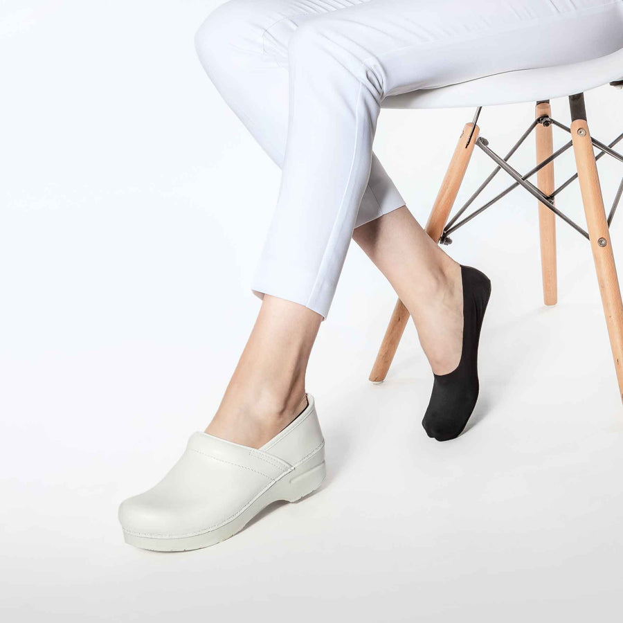 No-show socks for women, pairs perfectly with Dansko clogs.