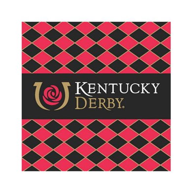 Kentucky Derby Icon Beverage Napkins - 24 Pack