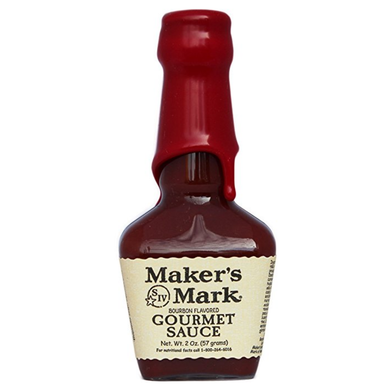 Maker's Mark Bourbon Flavored Gourmet Barbecue Sauce - 2oz. Size